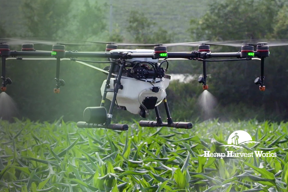Rantizo Agrichemical Applicator Drone | Spraying Drone for Farms | Hemp Crop Dusting Drone