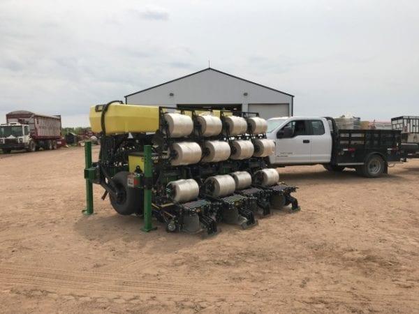 Norseman Planter | Techni-Plant FL | Hemp Planter | Precision Planter with Plastic | OneCrop Plastic Tape Planter | CBD Hemp Plastic Seeder
