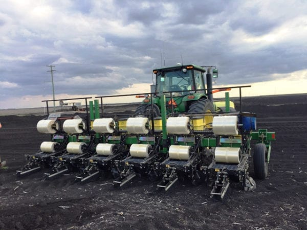 Planter | Hemp Harvest Works | Field | Agricultural Machinery | Agriculture | 6 Row Planter | Industrial Hemp Planting | Norseman | mulch layer | Techni-Plant