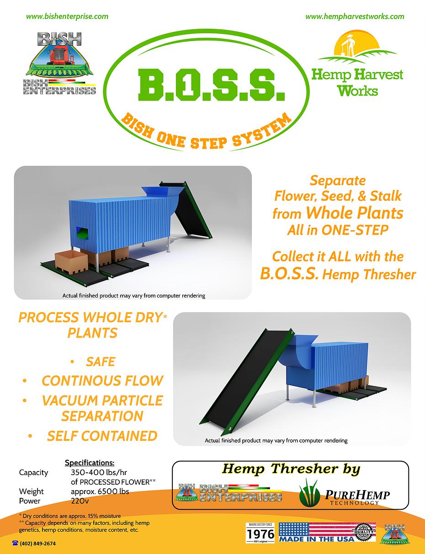 SuperCrop® Hemp Header | Bish Enterprises