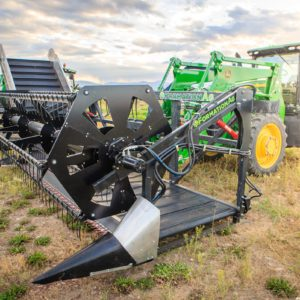 Clean Cut Hemp Harvester | Formation Ag Hemp Header | CBD Hemp Flower Machine