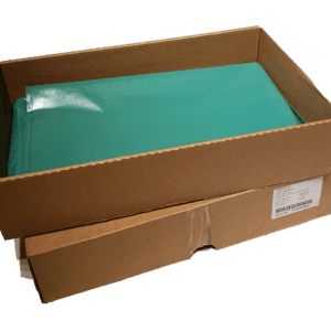 Box | Hemp Harvest Works | Turquoise | Rectangle | Hemp Flower Storage | Cannabis Storage | Marijuana Storage