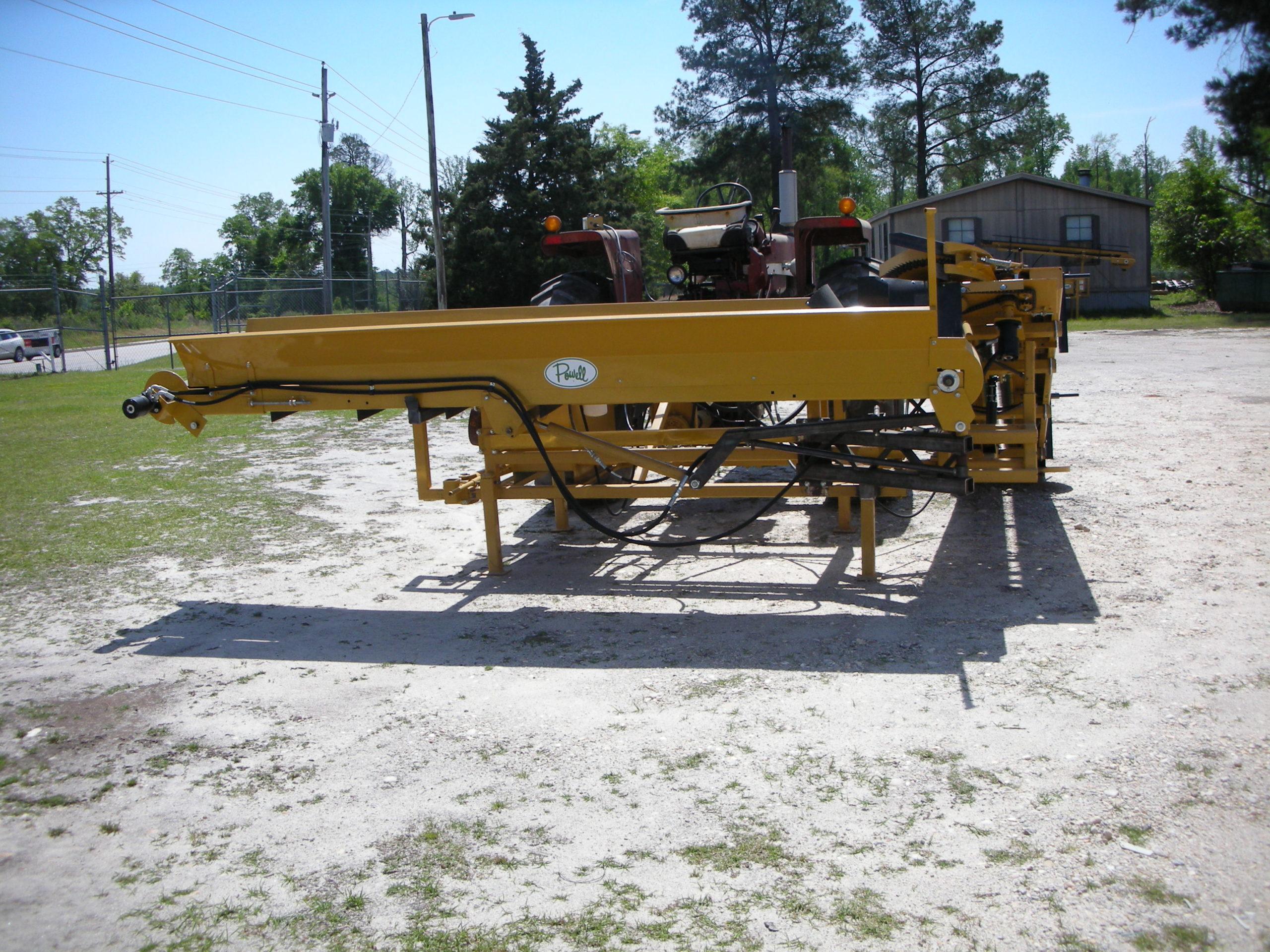 CBD Hemp Handler | Single Row Hemp Harvester | Powell Hemp Machine | Marco Manufacturing | Hemp Cutter