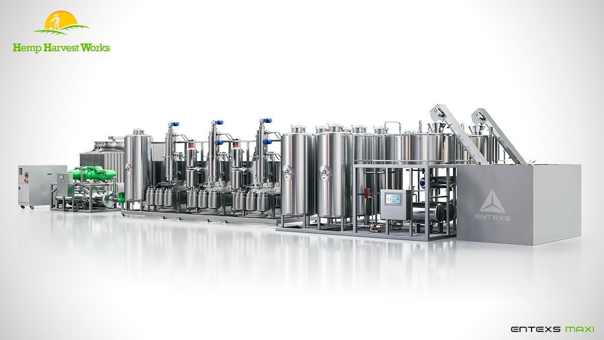 Entexs Maxi Ethanol Hemp Extraction System | Best CBD Hemp Extraction | CBG Alcohol Extraction Machine