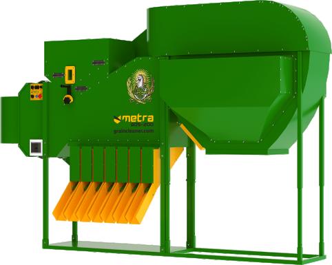 Metra ADS Hemp Grain Cleaner | Hemp Seed Cleaner | Filterless air grain sorter
