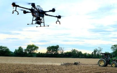 Drones offer outdoor cannabis cultivators precise solutions